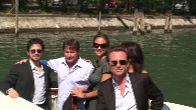 Freddy Rodríguez Emilio Estevez and Christian Slater at the The 63rd International Venice Film Festival in Venice on September 2 2006