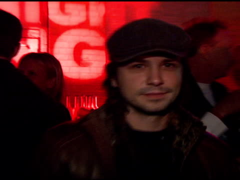 Freddy Rodriguez at the Motorola and Nintendo present the Motorola Late Night Lounge at Sundance 2008 at NULL in Park City Utah on January 19 2008