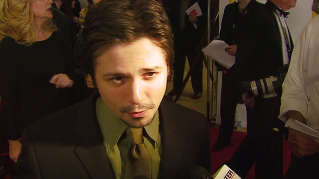 Freddy Rodriguez on being honored for 'Bobby' how he's planning to celebrate at the Hollywood Film Festival 10th Annual Hollywood Awards at the...