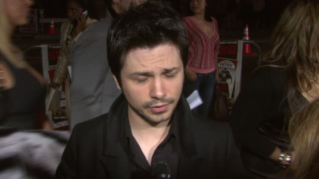Freddy Rodriguez on being the male lead in the 'Planet Terror' segment on the two features being on totally separate shooting schedules on the...