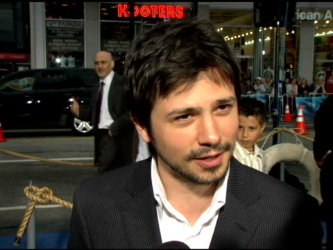 Freddy Rodriguez On playing Valentine the waiter on the highlight of making this film for him on the next few projects he has coming up at the Warner...