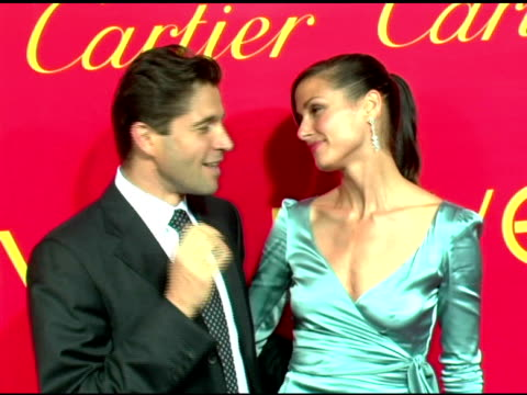 Frederic De Narp President and CEO Cartier NA and Bridget Moynahan at the Cartier and Interview Magazine Celebration of Love at the Cartier Mansion...