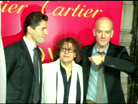 Frederic De Narp President and CEO Cartier NA Ingrid Sischy Editor in Chief Interview Magazine and Michael Stipe at the Cartier and Interview...