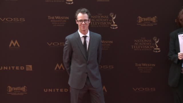 Frederik Wiedmann at the 43rd Annual Daytime Creative Arts Emmy Awards at Westin Bonaventure Hotel on April 29 2016 in Los Angeles California