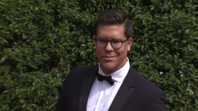 fredrik eklund at the 2015 creative arts emmy awards at microsoft theater on september 12 2015 in los angeles california - emmy awards stock-videos und b-roll-filmmaterial