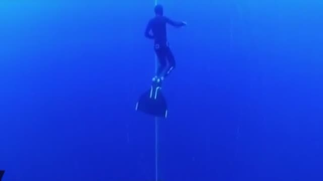 free divers compete in the cmas 3rd free diving outdoor world championship in antalya, turkey on october 02, 2018. spanish ramon carreno paz after... - free diving stock videos & royalty-free footage
