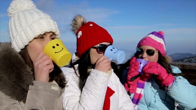 vídeos de stock, filmes e b-roll de tempo livre com amigos e família de férias de inverno - acontecimentos da vida