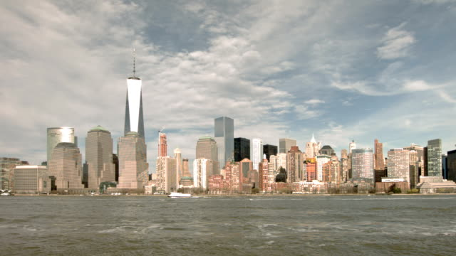 Freedom tower and Manhattan