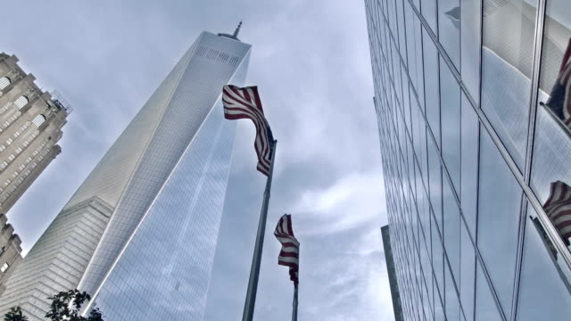 freedom tower, new york - september 11 2001 attacks stock videos and b-roll footage