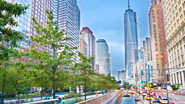 freedom tower under construction new york - - port authority stock videos & royalty-free footage