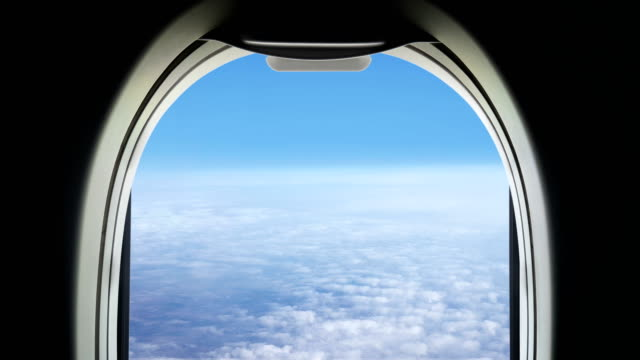 stockvideo's en b-roll-footage met freedom travel under the cloud - loopable elements - 4k-resolutie - aircraft point of view