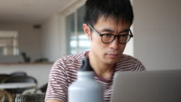 Freelancer working remotely