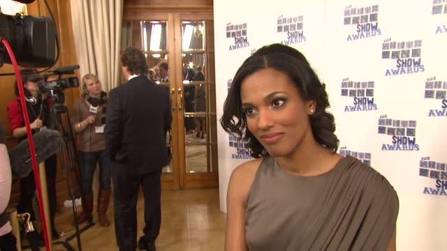 freema agyeman on mohammed ali and his work, and on doctor who at the uk the southbank show awards at london . - doctor who stock videos & royalty-free footage