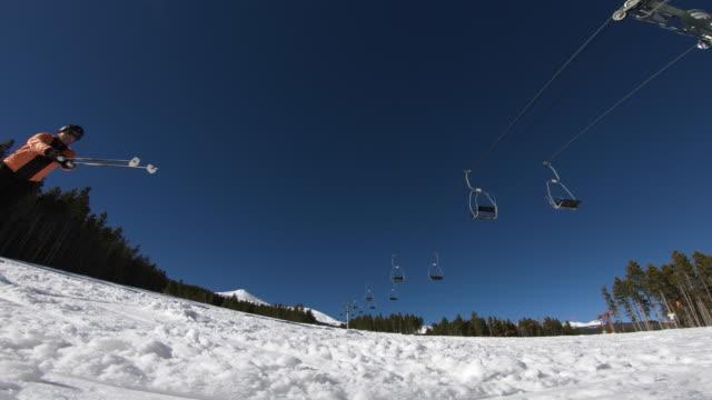 freestyle skiing - ski pole stock videos & royalty-free footage