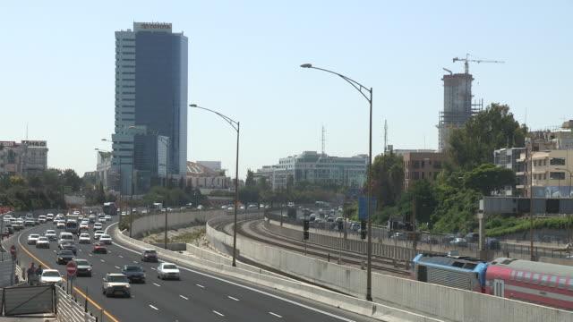 Freeway Traffic, Tel Aviv, Israel