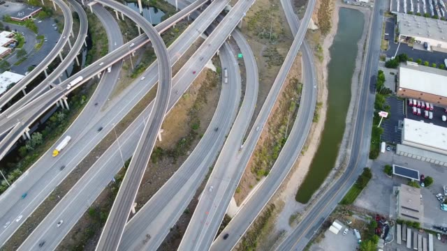 freeway - american interstate stock videos & royalty-free footage