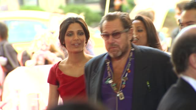 freida pinto and julian schnabel at the 2010 toronto international film festival 'miral' at toronto on - pinto bean stock videos and b-roll footage