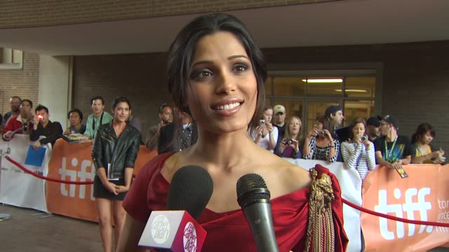 Freida Pinto on what it was about this character that made her want the role what message she thinks the audience will take away from the film if she...