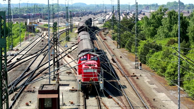 freight depot - rail freight stock videos and b-roll footage