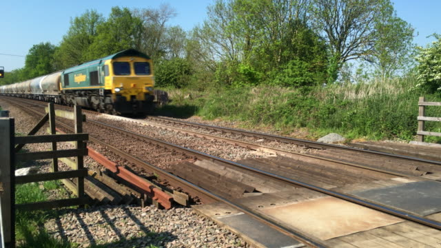 Freight Liner railway freight train