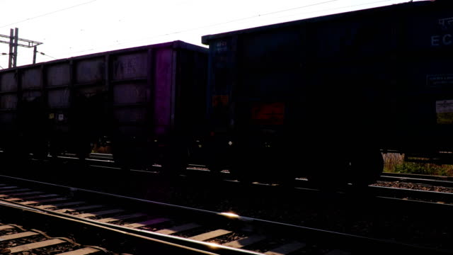 freight rail in 4k resolution - railroad car stock videos & royalty-free footage
