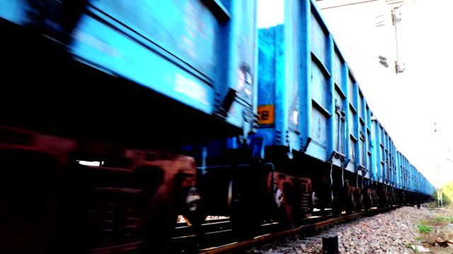 freight rail in 4k resolution - tramway stock videos & royalty-free footage