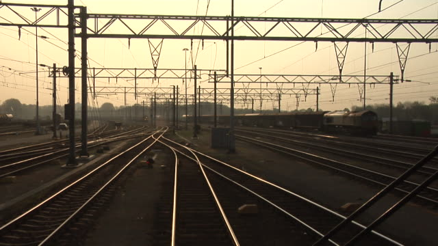 stockvideo's en b-roll-footage met freight train departs from rotterdam waalhaven - kees van den burg