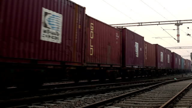 freight train in high speed - cargo train stock videos & royalty-free footage