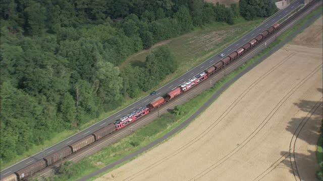 Freight Train Near Wehretal