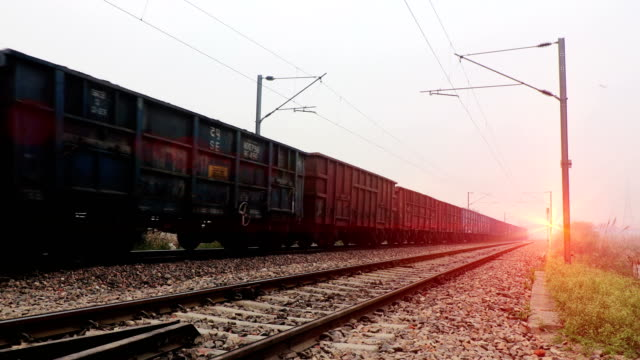 freight train on the move - locomotive stock videos & royalty-free footage