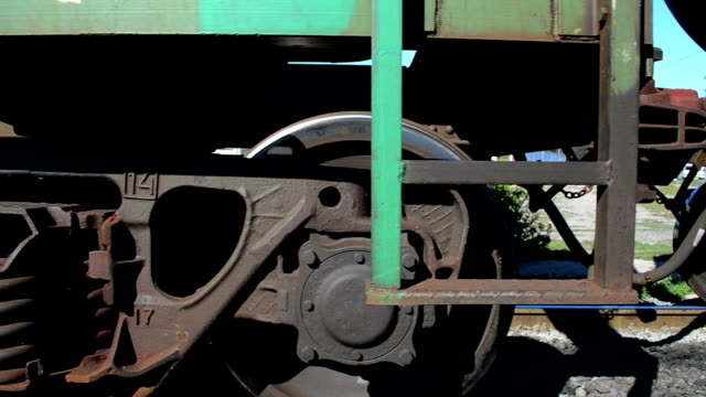 HD Freight train passing by