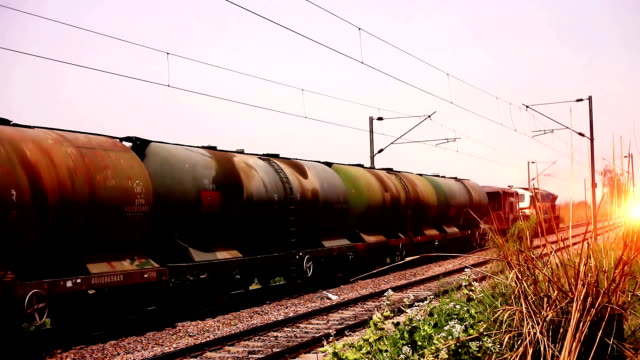freight train passing - diesel fuel stock videos and b-roll footage