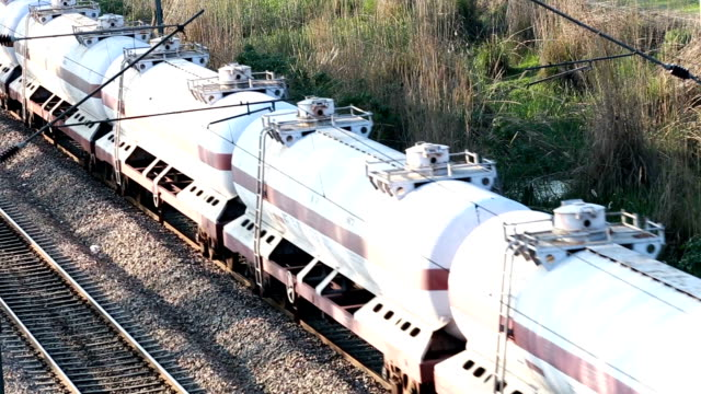 freight train - storage tank stock videos and b-roll footage