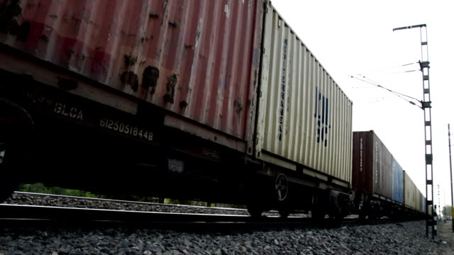 freight train - rail freight stock videos and b-roll footage