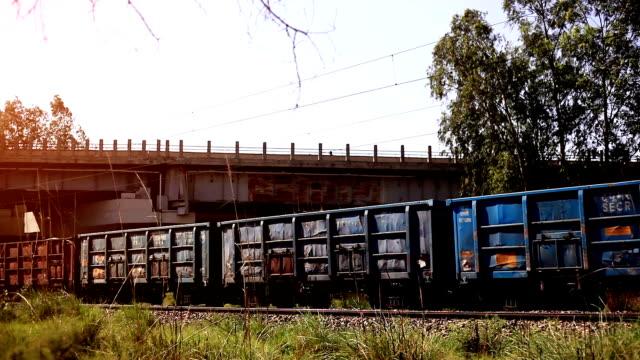 vídeos y material grabado en eventos de stock de tren de carga - tren de carga