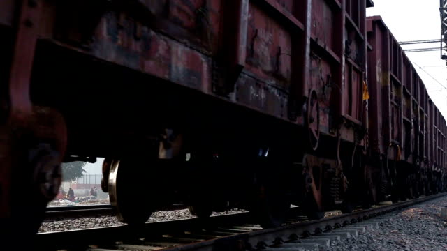 freight train - railway track stock videos & royalty-free footage