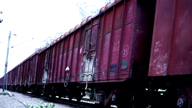 freight train - cargo train stock videos & royalty-free footage