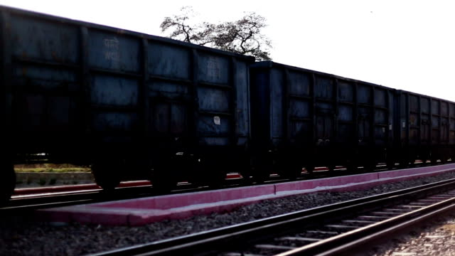 freight train - ferrovia video stock e b–roll