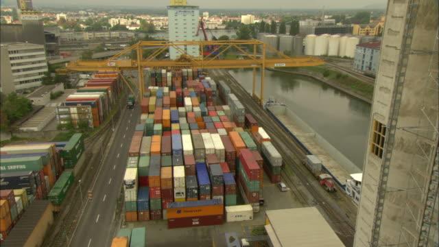 ws ha freight yard / basel, switzerland - switzerland stock videos & royalty-free footage