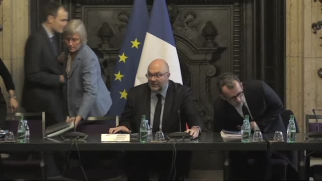 french agriculture minister stephane travert on tuesday met representatives of milk companies after multiple cases emerged of babies becoming sick... - salmonella stock videos & royalty-free footage