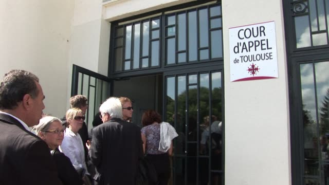 french appeals court jails former boss of total subsidiary to one year for 2001 azf chemical plant blast that killed 31 people. voiced : total... - toulouse stock videos & royalty-free footage