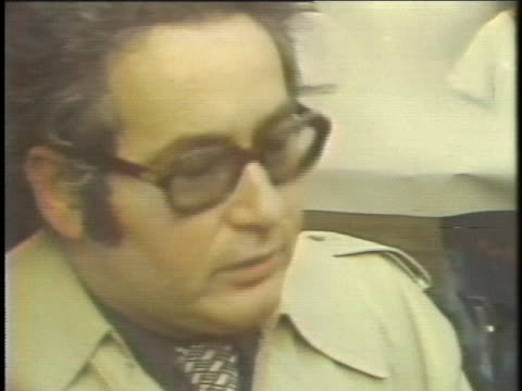 french attorney serge klarsfeld comments on the conviction of three former nazis in a german court - crime or recreational drug or prison or legal trial stock-videos und b-roll-filmmaterial