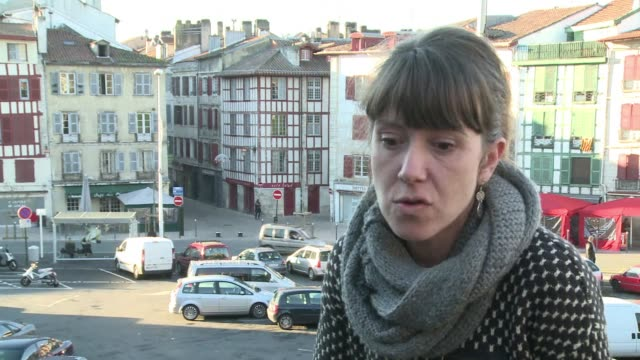 vídeos y material grabado en eventos de stock de french basque activist aurore martin will be tried for terrorism on 12 january in madrid where she could face ten years in prison - aquitania
