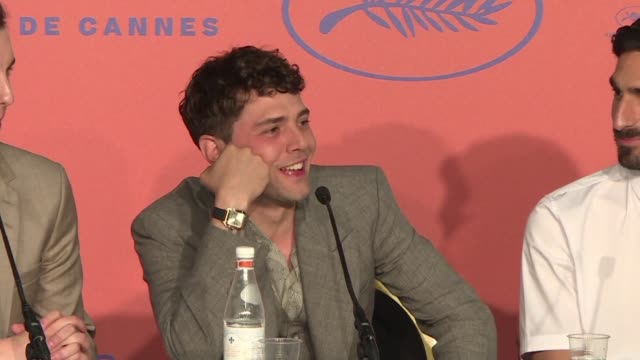 FRA: Cannes: Dolan gives presser for Matthias et Maxime