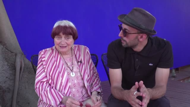 French director Agnes Varda one of the last representatives of the New Wave of cinema is promoting the American release of her latest film Faces...