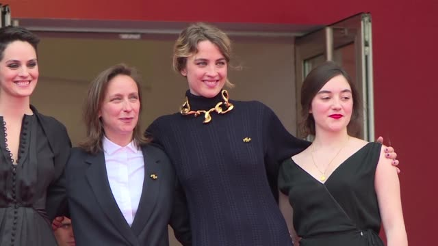 FRA: Cannes: Red carpet for Portrait of a Lady on Fire