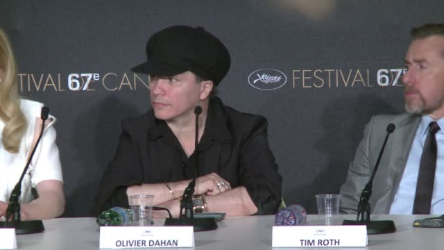 french director olivier dahan presents grace of monaco at the cannes film festival starring nicole kidman and tim roth - tim roth stock videos and b-roll footage