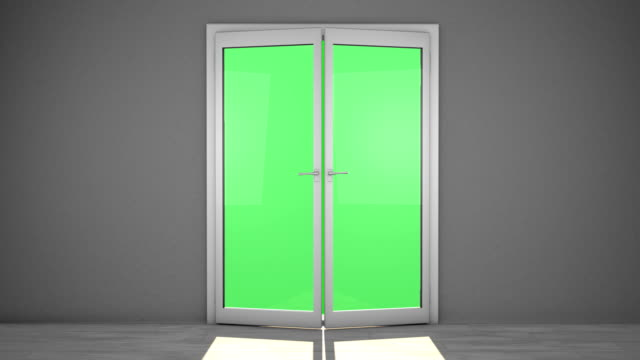 french doors - french doors stock videos and b-roll footage