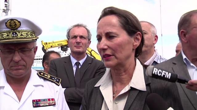 French environment minister Segolene Royal said news of the Air Algerie flight crash was tragic