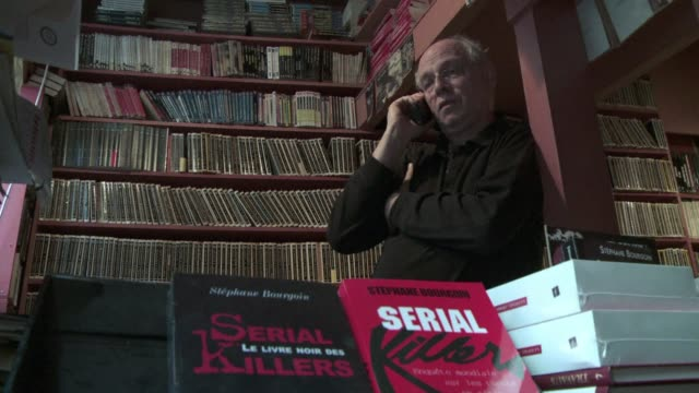 a french expert in serial killings says the attacker of a jewish school in toulouse france is a 'serial sniper' and a psychopath toulouse killer a... - psychopathy stock videos and b-roll footage